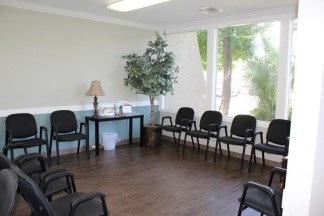 Waiting Room at Sea Pines Circle Immediate Care in Hilton Head